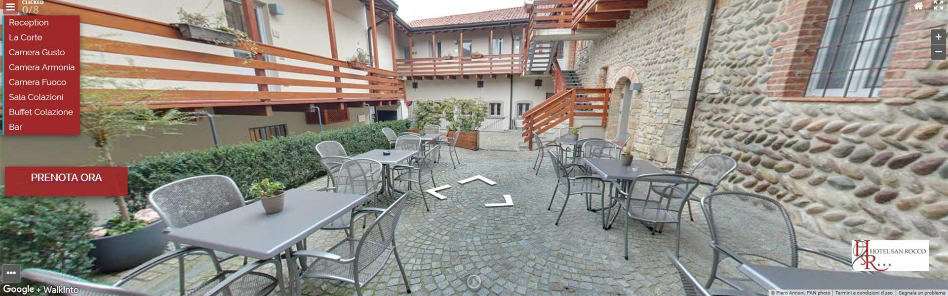 tour-virtuale Hotel vicino Aeroporto Bergamo Fiera